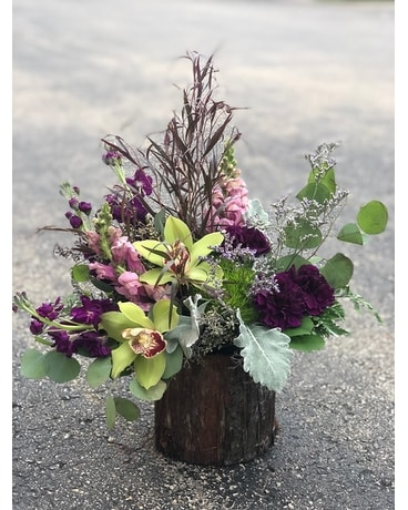 Rustic Jewel Flower Arrangement