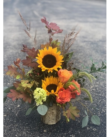 Autumn Woods Flower Arrangement