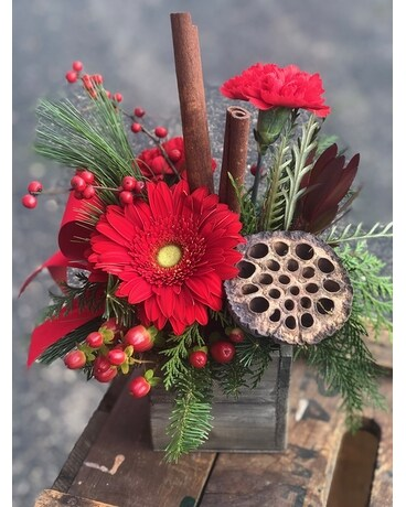 Miracle on 34th Street Flower Arrangement