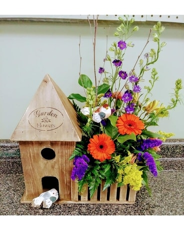 Birdhouse Planter Custom product
