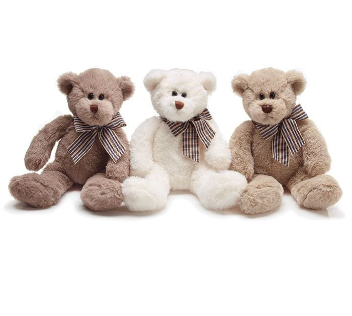 11 inch Cream, Beige or Gray Teddy Bear