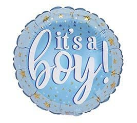 It's a Boy Balloon pick (pattern may vary)