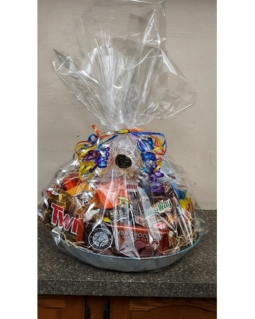 Candy Craze Basket Gift Basket