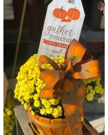 Fall MUM Basket! Custom product