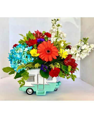 Happy Camper Flower Arrangement