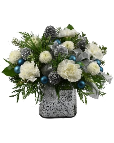 Teal Appeal Flower Arrangement