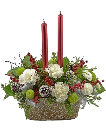 Vintage Style Flower Arrangement