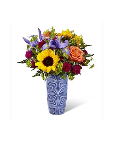 The FTD Touch of Spring Bouquet Flower Arrangement