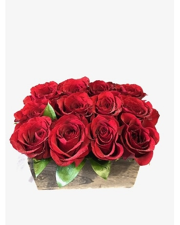 I Send You Love Flower Arrangement