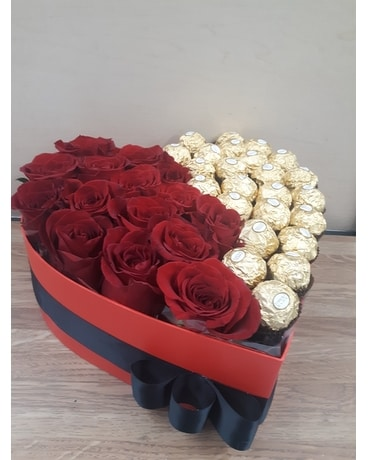 Roses are Red Chocolate is Gold !