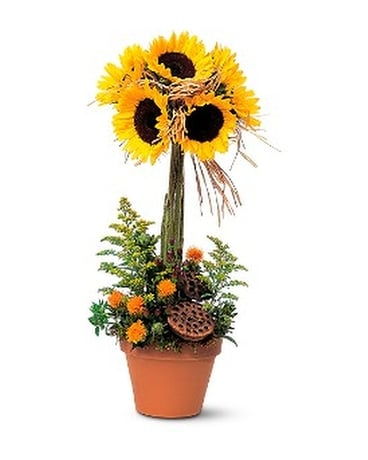 Sunflower Topiary Custom product