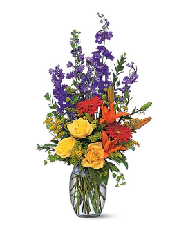 Colorful Sensation Flower Arrangement