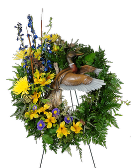 Woodland Memories Standing Spray Flower Arrangement