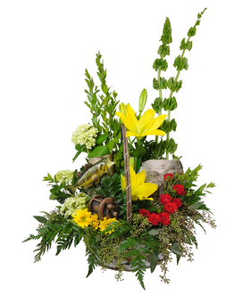 Angler's Glory Flower Arrangement