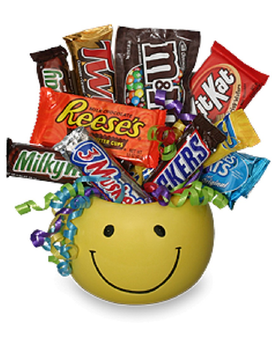 Happy Snacks Gift Basket