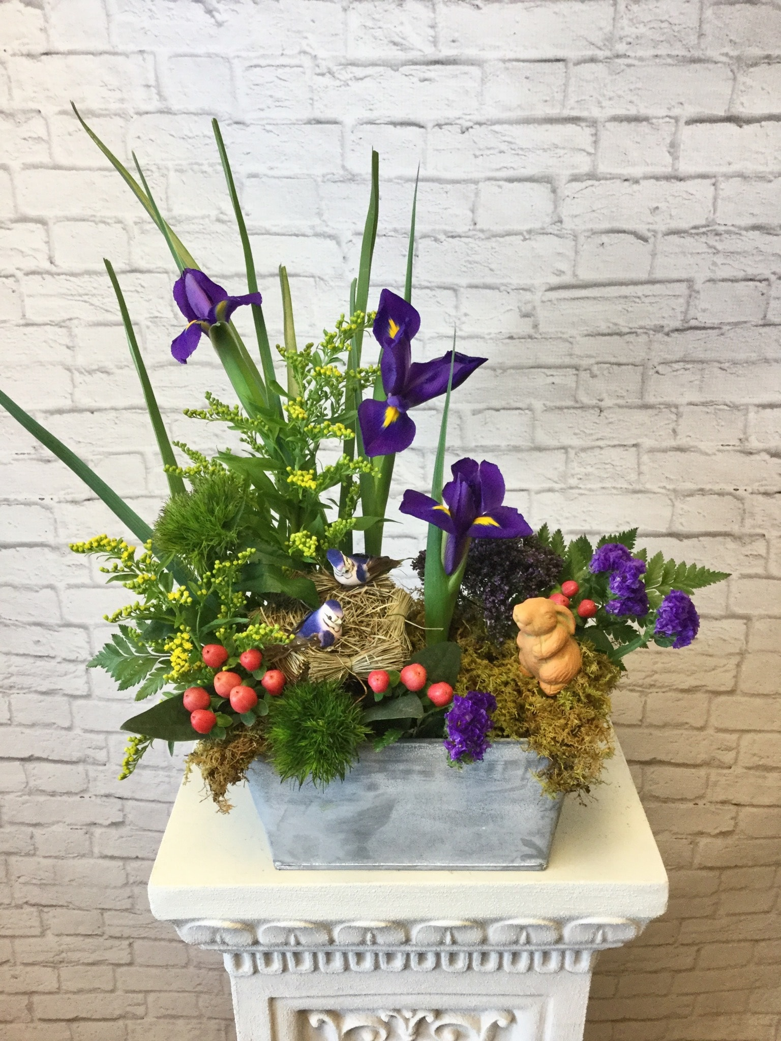 Spring Garden Arrangement Design Class