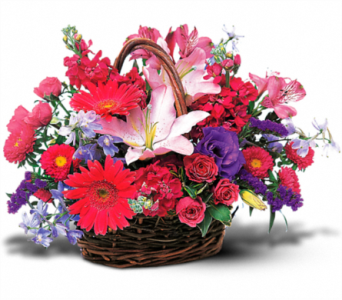 Basket of Happiness in Norristown PA, Plaza Flowers