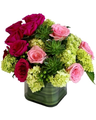 Philly Valentine Love Flower Arrangement