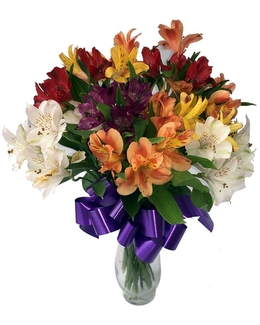Alstromeria Assortment Flower Arrangement