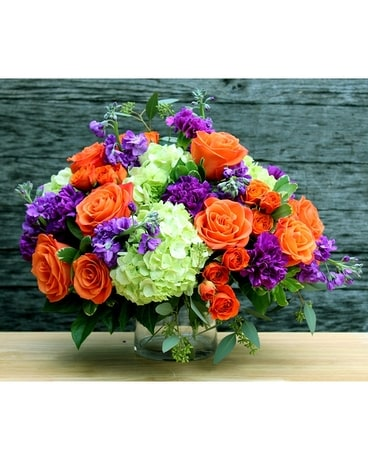 Plaza Flowers' Vibrant Gratitude Flower Arrangement