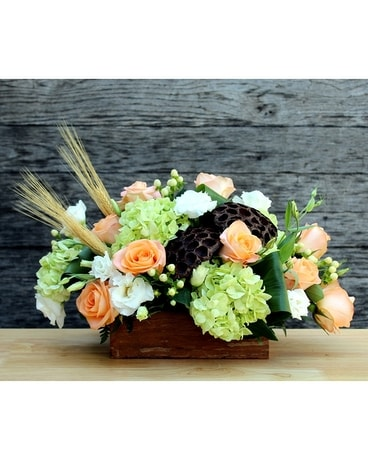 Plaza Flowers' Woodland Expressions Flower Arrangement