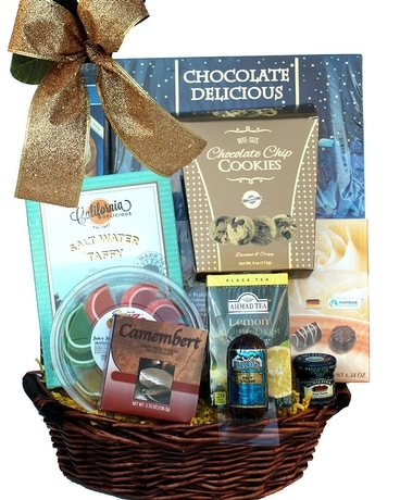Snacks and Sweets Gift Basket Gift Basket