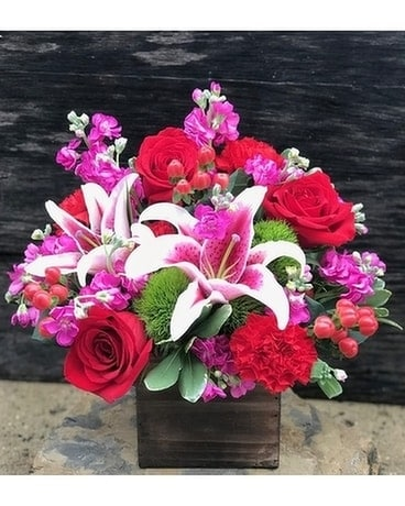 Beautiful Romance Flower Arrangement