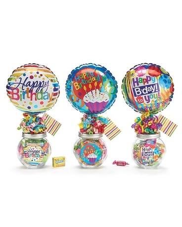 Birthday Candy Jar Gifts