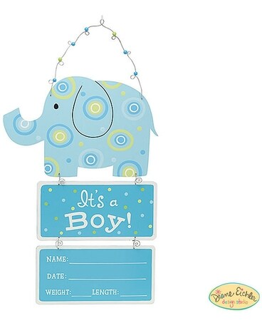 Baby Boy Stats Elephant Gifts