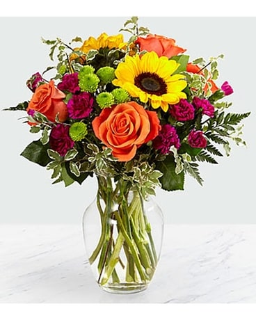 Philadelphia Bright Blooms Flower Arrangement
