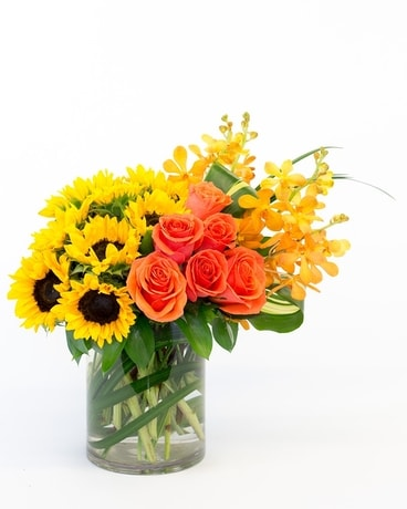 Oreland Sunset Flower Arrangement