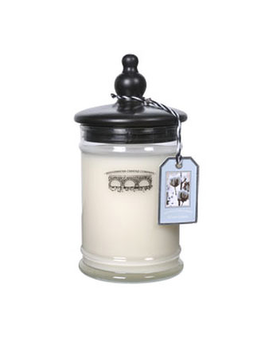 White Cotton Large Jar Candle