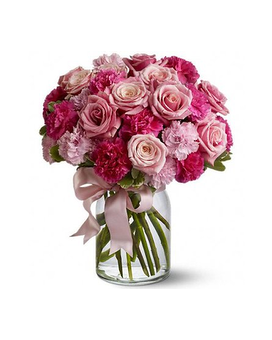 Pink and blush colored floral arrangements and other gifts quick view pink perfection mightylinksfo