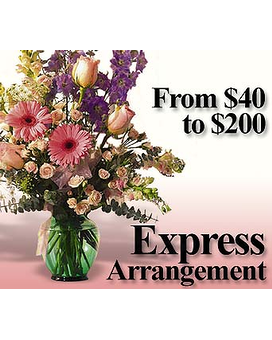 Express Arrangement Flower Arrangement