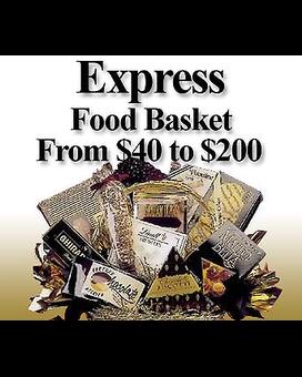 Express Food Basket Delivery Plaza Flowers