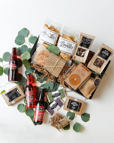 Salty & Sweet Gourmet Gift Basket