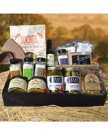 Texas To Table Gourmet Gift Basket