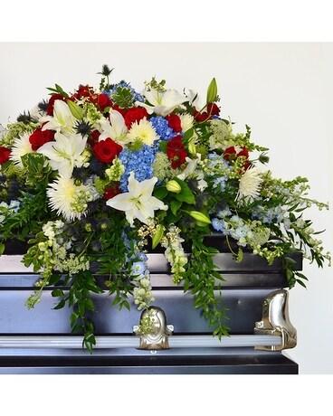 Casket Flowers | Sympathy Floral