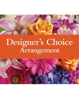 Designers Choice BASKET Flower Arrangement