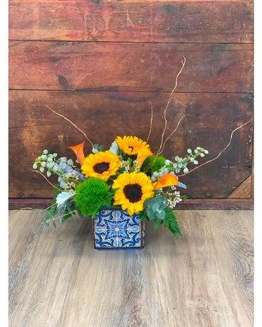 Floral Staycation Flower Arrangement