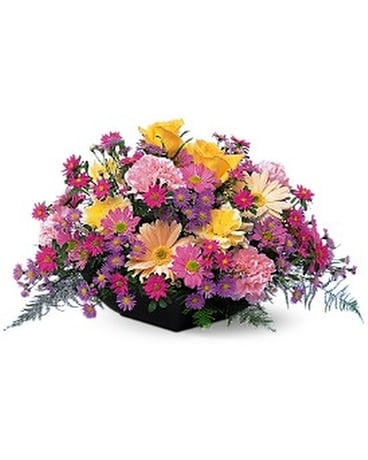 Garden Centerpiece Flower Arrangement