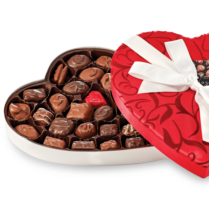 Abdallah Heart, boxed chocolates
