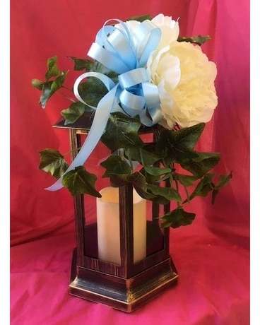 Lanter Flower Arrangement