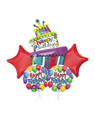 Quick View Birthday Balloon Bouquet