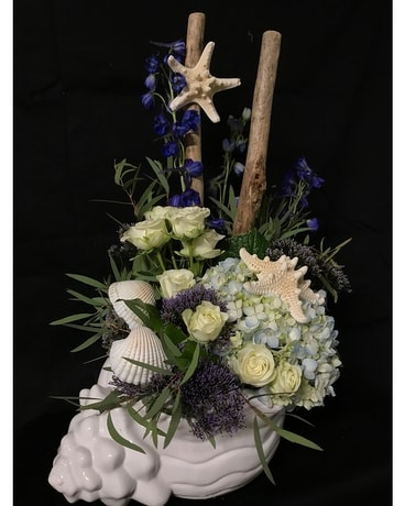 Beachtime Flower Arrangement