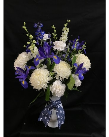 Anchors Away Flower Arrangement