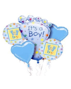 It's A Boy Balloon Bouquet Custom product